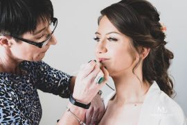 Wedding makeup artist Belfast